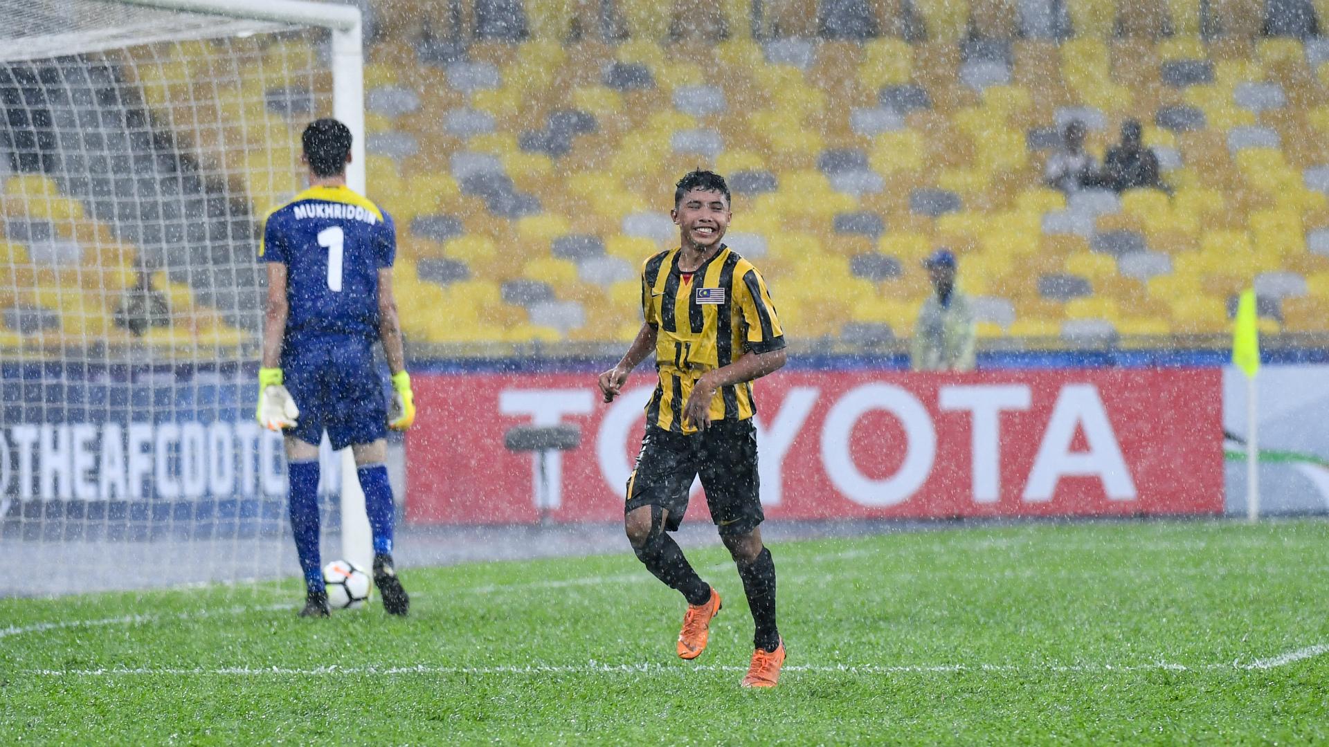 Alif Mutalib, Malaysia U16, AFC U16 Championship