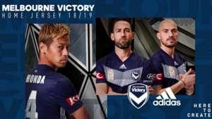 Melbourne Victory 2018/19 kit