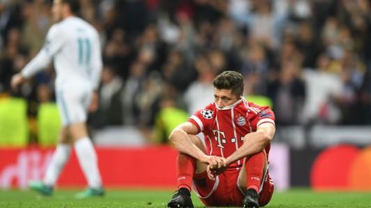 Robert Lewandowski FC Bayern Real Madrid