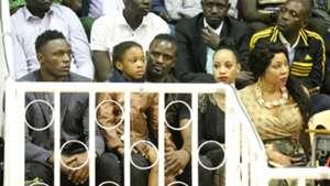 Victor Wanyama Mariga and wife.