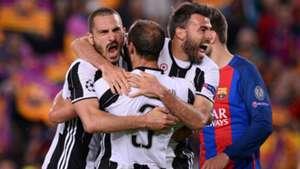 Bonucci Barzagli Chiellini Juventus