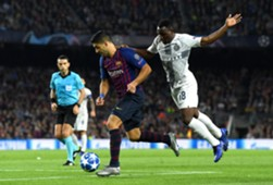 Luis Suárez Barcelona Inter Champions League