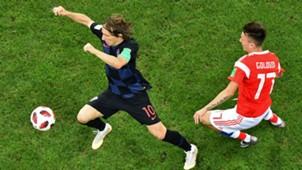 russia croatia - luka modric aleksandr golovin - world cup - 07072018