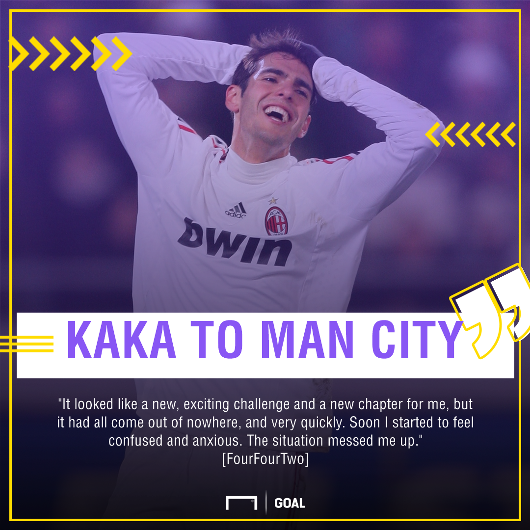 Kaka Manchester City move messed up