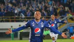 Santiago Montoya Millonarios gol vs Pasto Liga Águila 2019