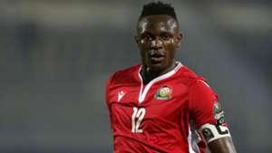 Victor Wanyama of Harambee Stars and Kenya.J