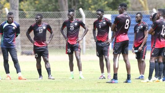 Harambee Stars squad.