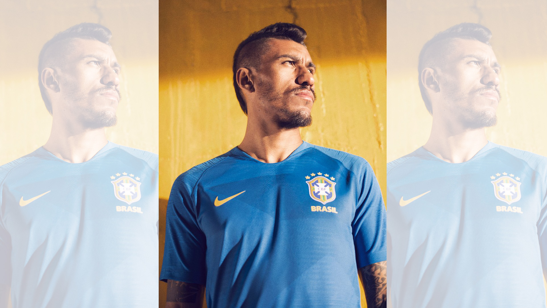 Brasil Camiseta Alternativa 2018 Brazil Away Kit c0f6d1b1544
