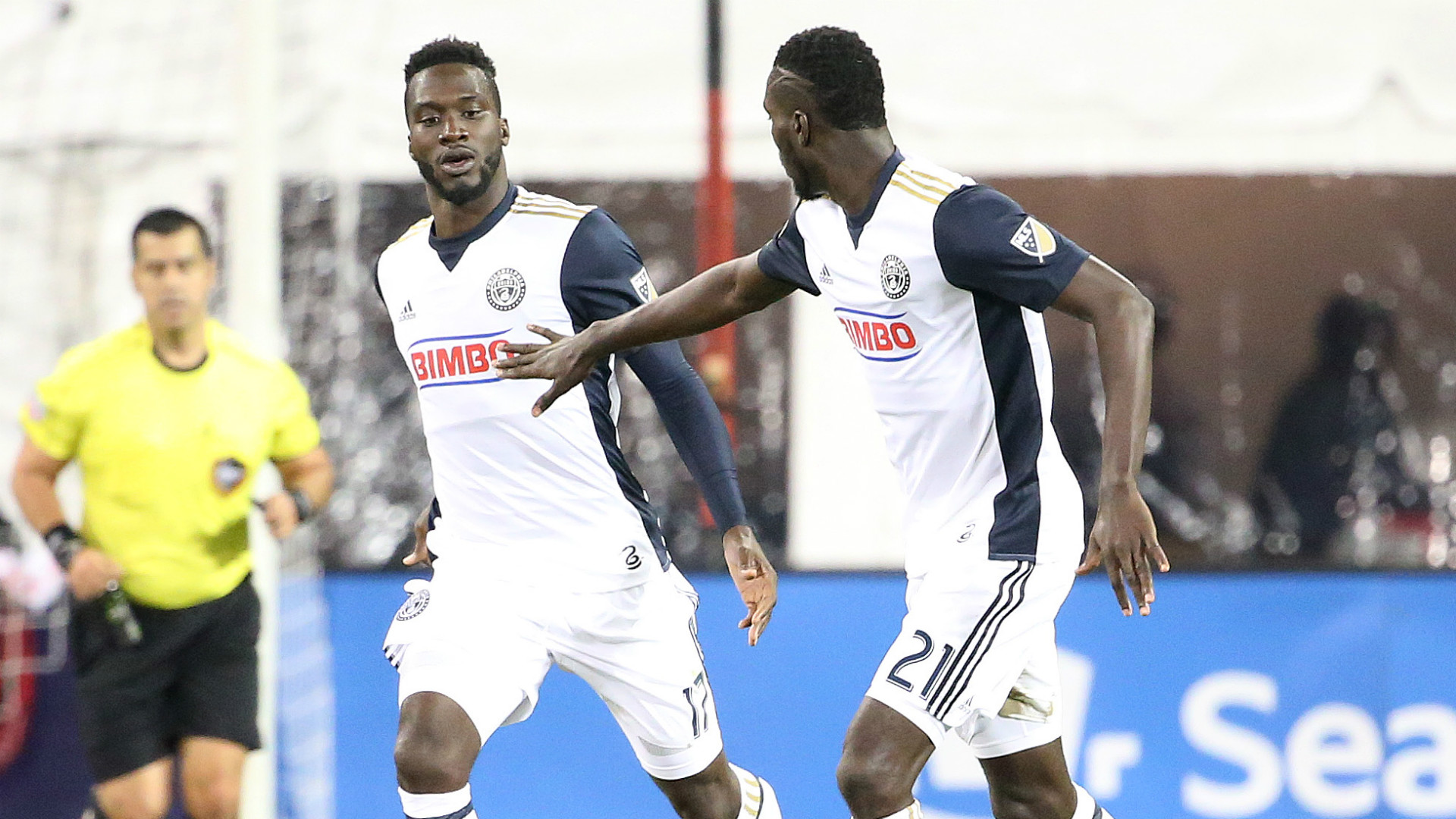 C.J. Sapong Derrick Jones Philadelphia Union