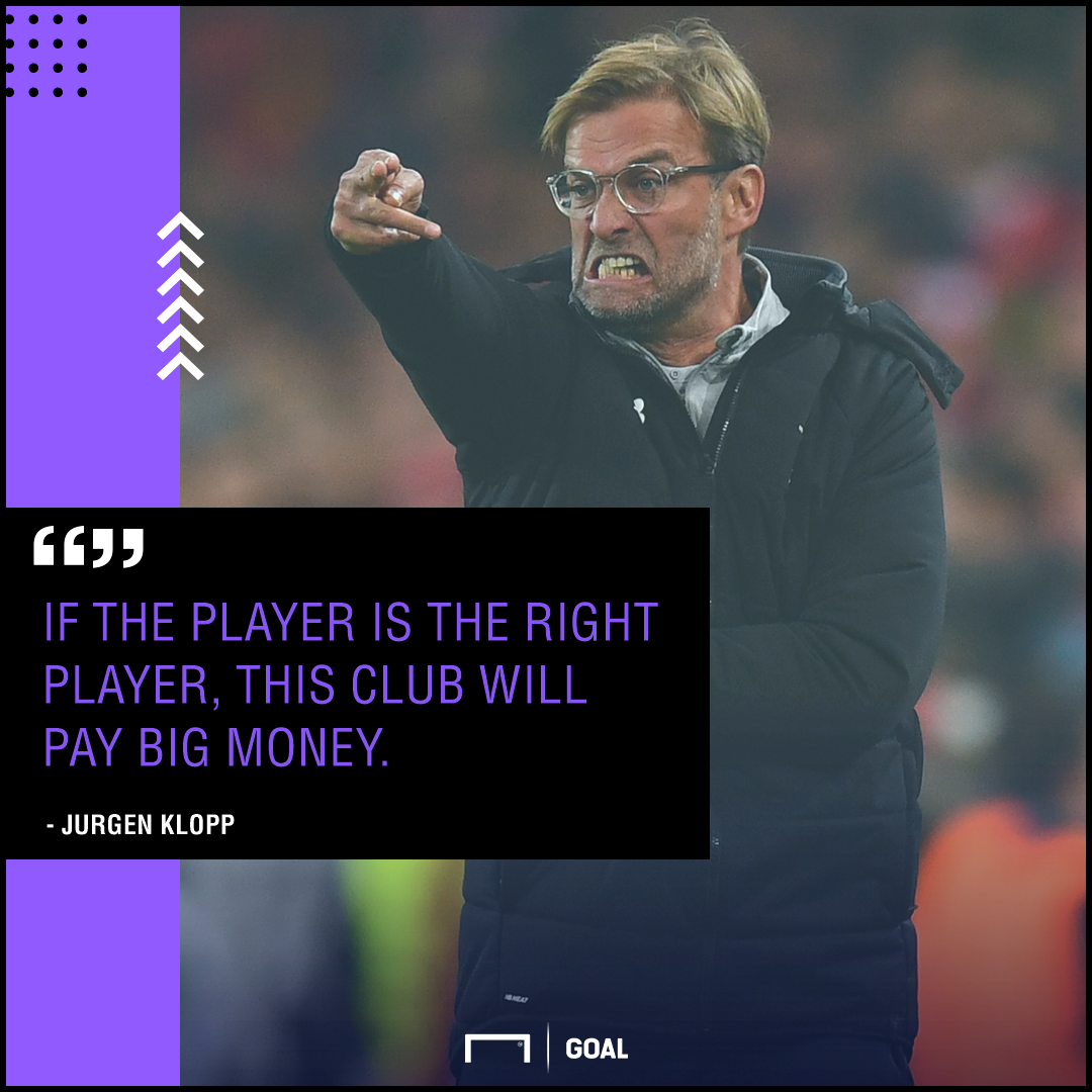 Jurgen Klopp Liverpool spend big money