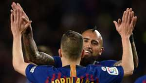 200419 Arturo Vidal Jordi Alba Barcelona Real Sociedad