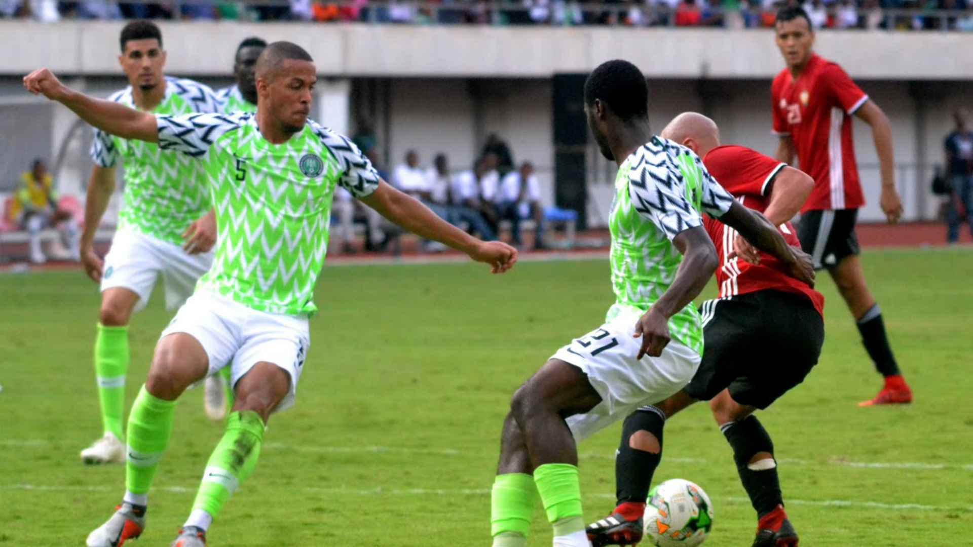 William Troost Ekong Ola Aina Nigeria Vs Libya