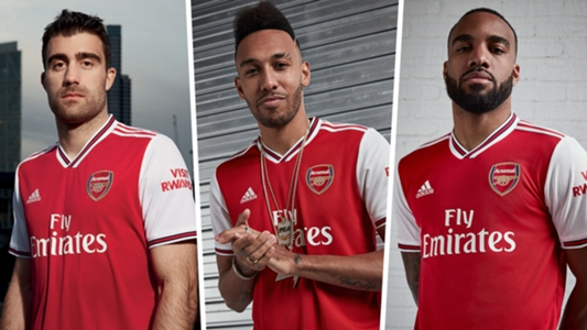 info for 955f0 493f1 New Arsenal kit: Gunners unveil 2019-2020 home shirt | Goal.com