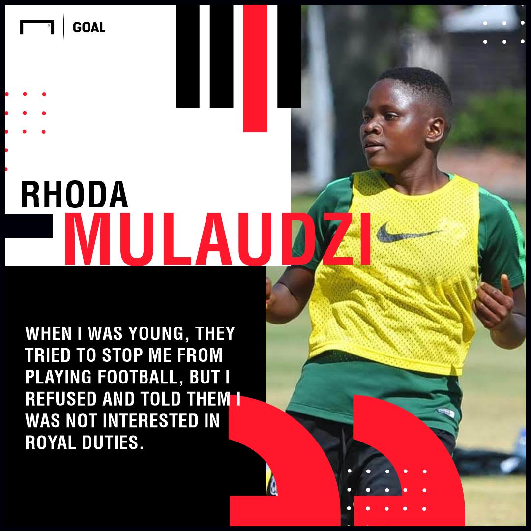Rhoda Mulaudzi - South Africa