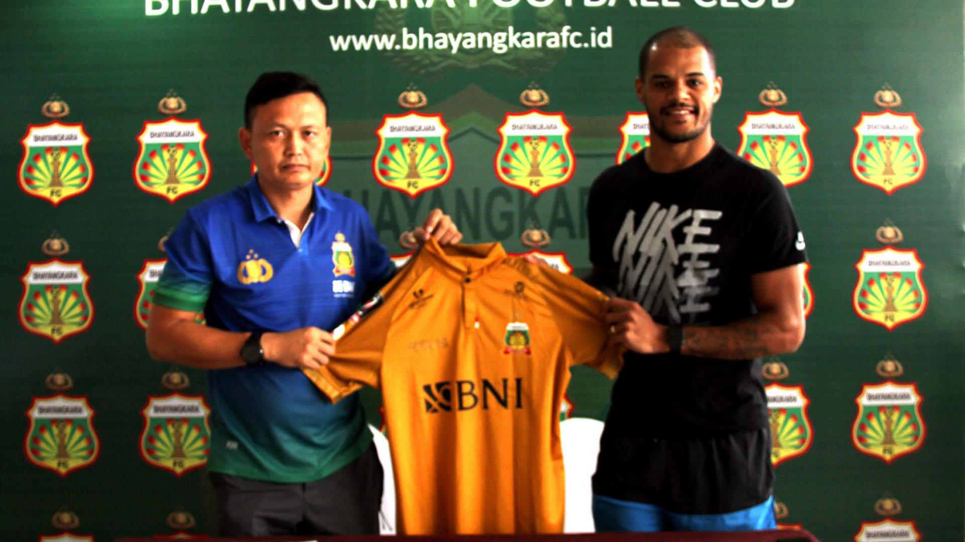 David Aparecido da Silva - Bhayangkara FC