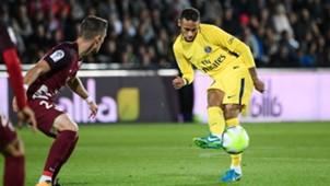 Neymar Metz PSG Ligue 1 08092017