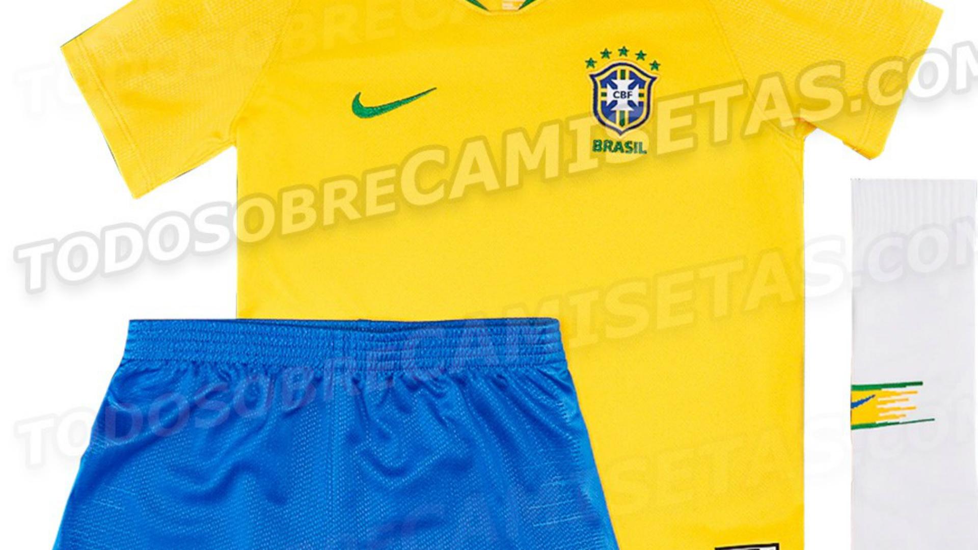 Camisas da Copa 2018  o que o Brasil e as outras seleções vão usar ... a786cb3be2da1