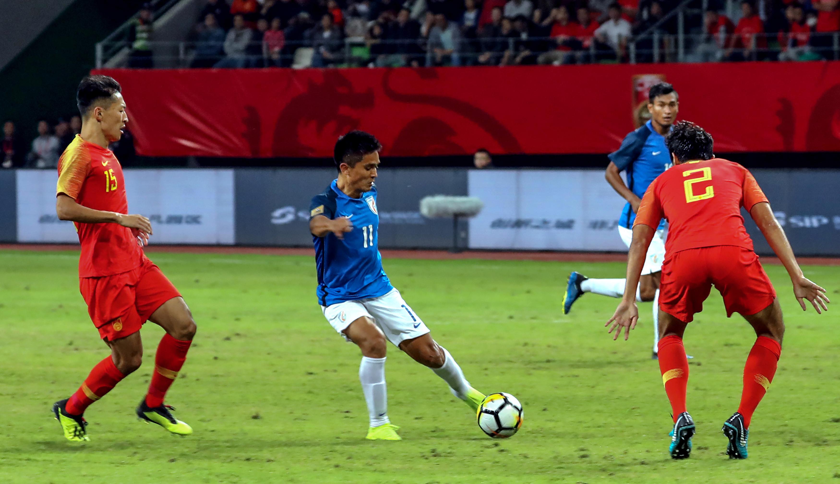 Sunil Chhetri India China