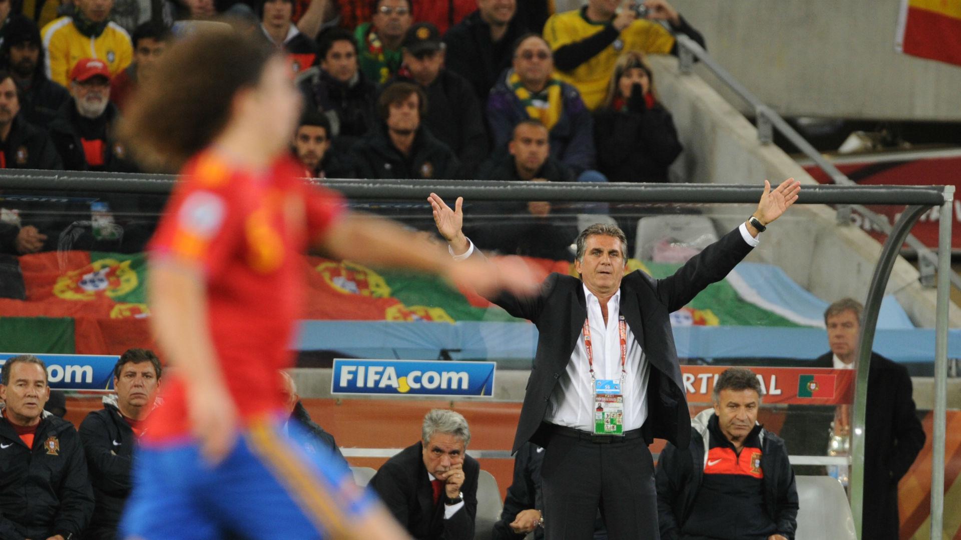Queiroz Portugal Espanha Copa do Mundo 2010 18 06 2018