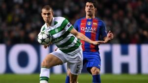 jozo simunovic luis suarez - celtic barcelona - champions league 2016