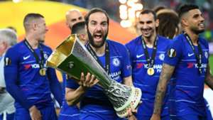 Gonzalo Higuain Chelsea Europa League