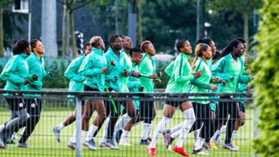 Nigeria hold final training in Grenoble