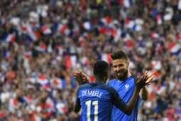 Olivier Giroud France Paraguay Friendly 02062017