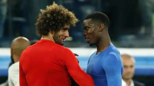 Marouane Fellaini Paul Pogba