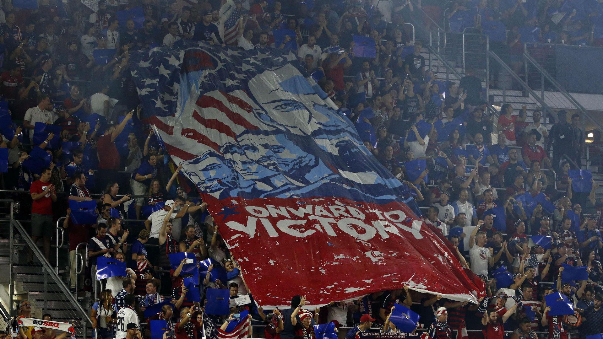 USA fans in Orlando