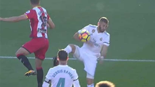 Benzema penalti Girona Real Madrid