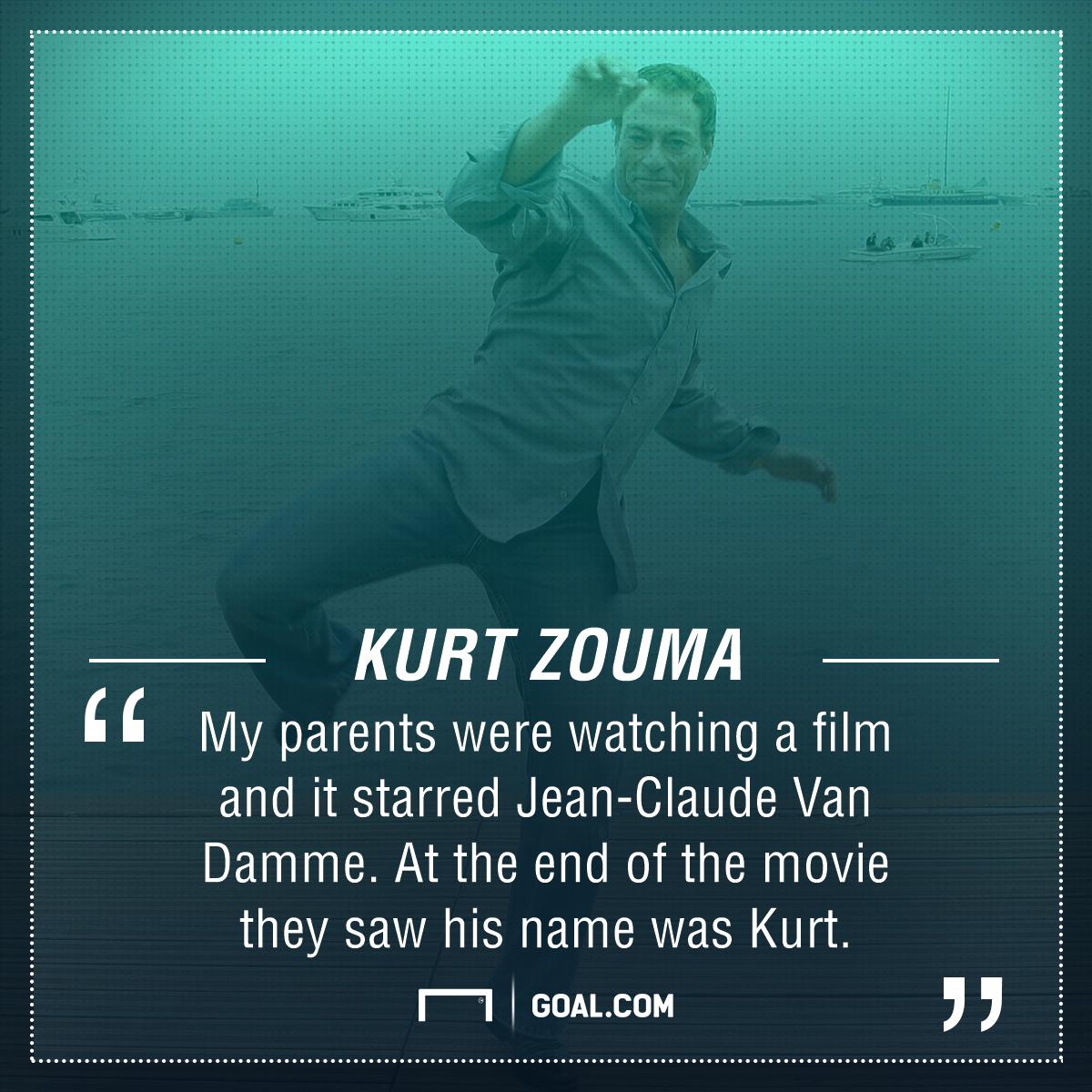 Kurt Zouma Van Damme