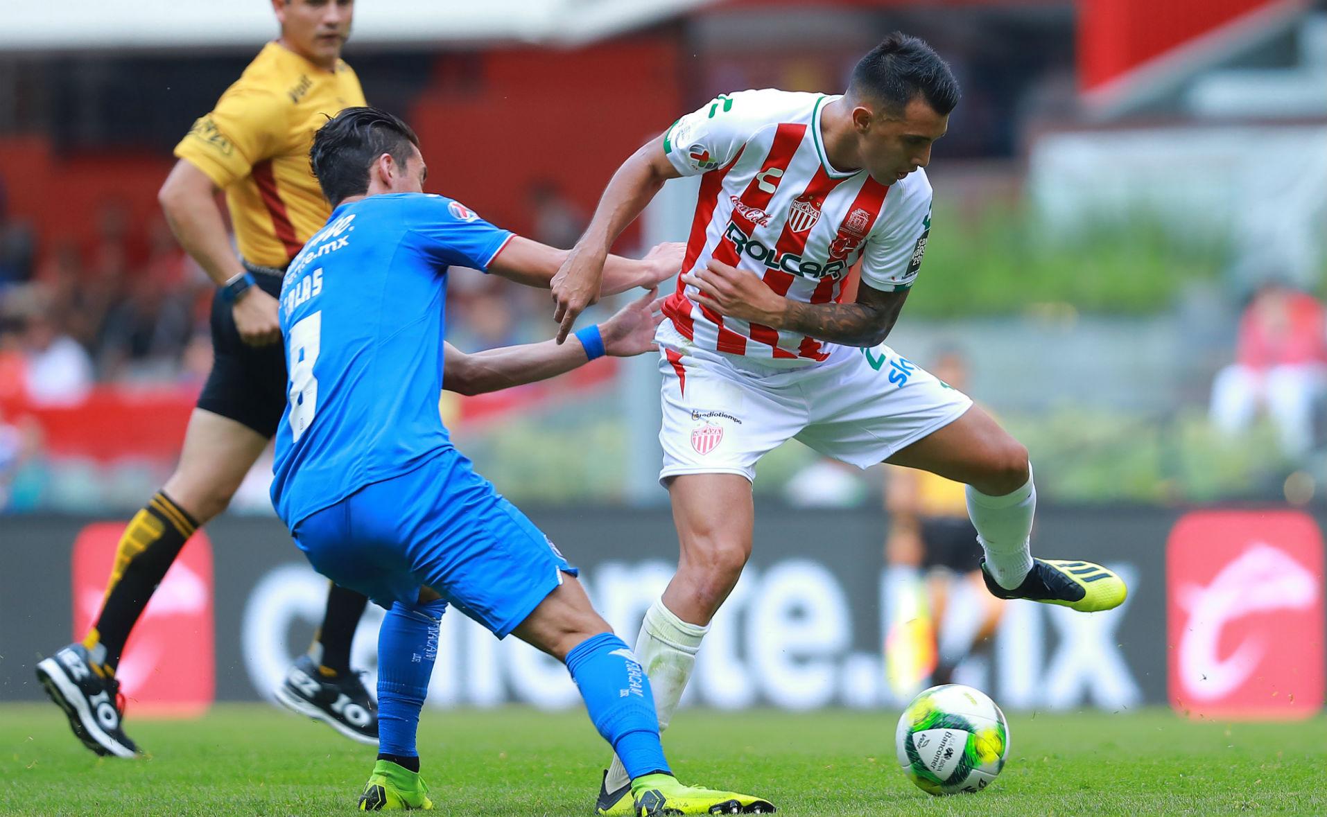 Cruz Azul Necaxa Javier Salas
