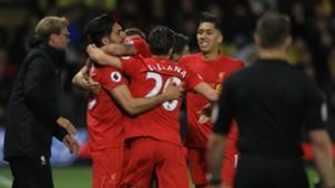 Emre Can Adam Lallana Liverpool Premier League