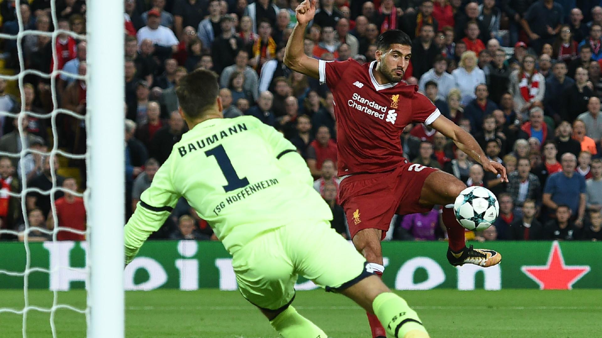 Emre Can Liverpool Hoffeinheim Champions League