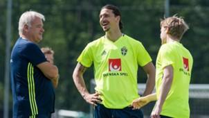 Emil Forsberg Zlatan Ibrahimovic Schweden Sweden 31052016