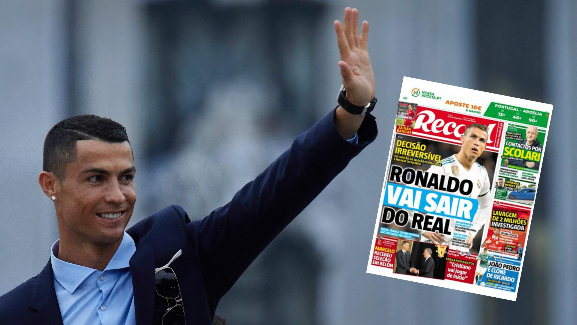 GFX Cristiano Ronaldo Record leave