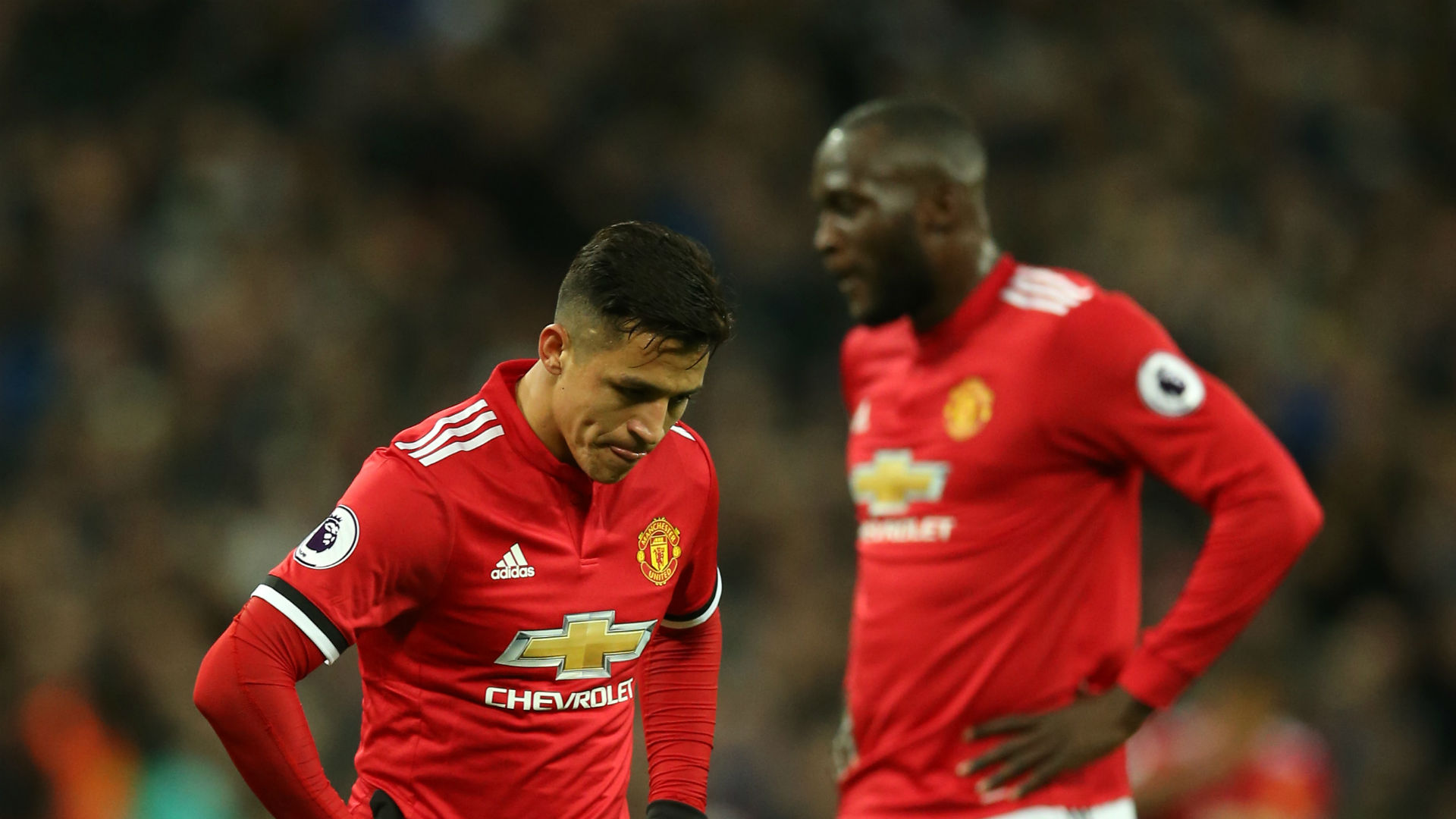 Alexis Sanchez Romelu Lukaku Manchester United 31012018