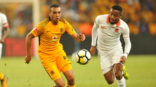 Ryan Moon of Kaizer Chiefs against Polokwane City