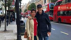 Zinedine Zidane faz turismo por Londres