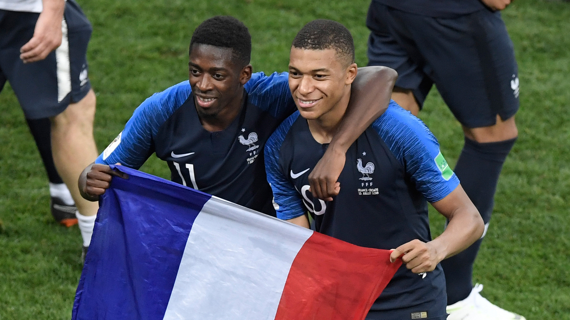 Ousmane Dembele Kylian Mbappe France