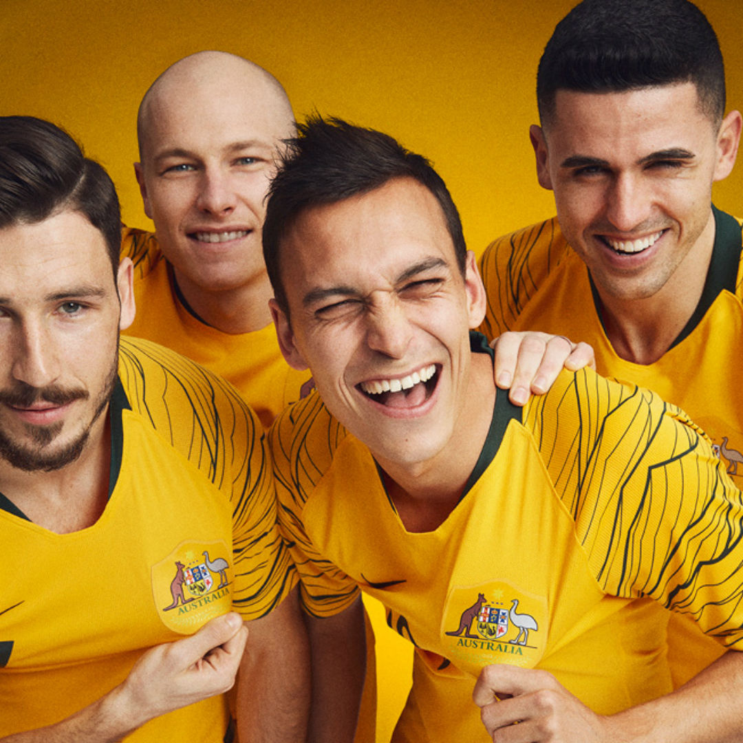 Embed only Australia World Cup 2018 kit home