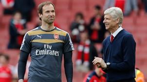 Petr Cech Arsene Wenger