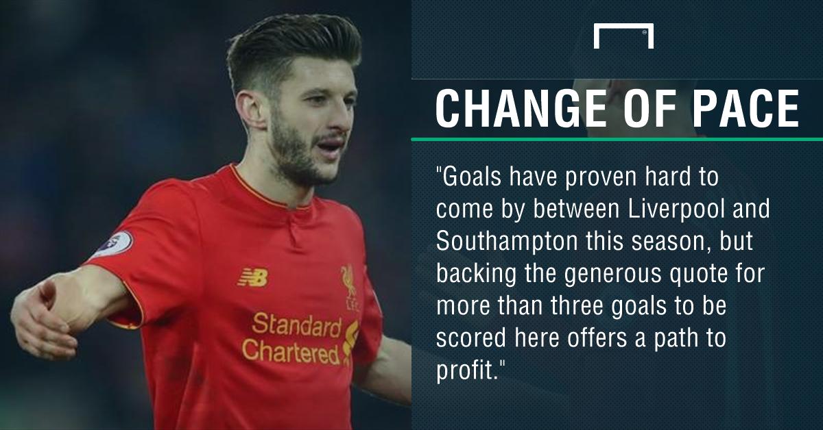 GFX Liverpool Southampton betting