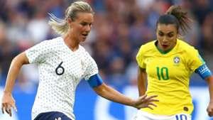 Amandine Henry Marta France Brazil World Cup Women 23062019