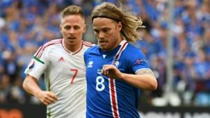 Birkir Bjarnason Iceland Euro 2016