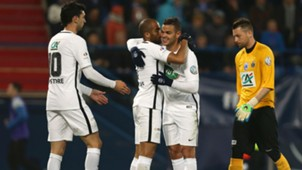 Lucas Moura Hatem Ben Arfa Avranches PSG Coupe de France 05042017