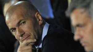Zinedine Zidane Jose Mourinho