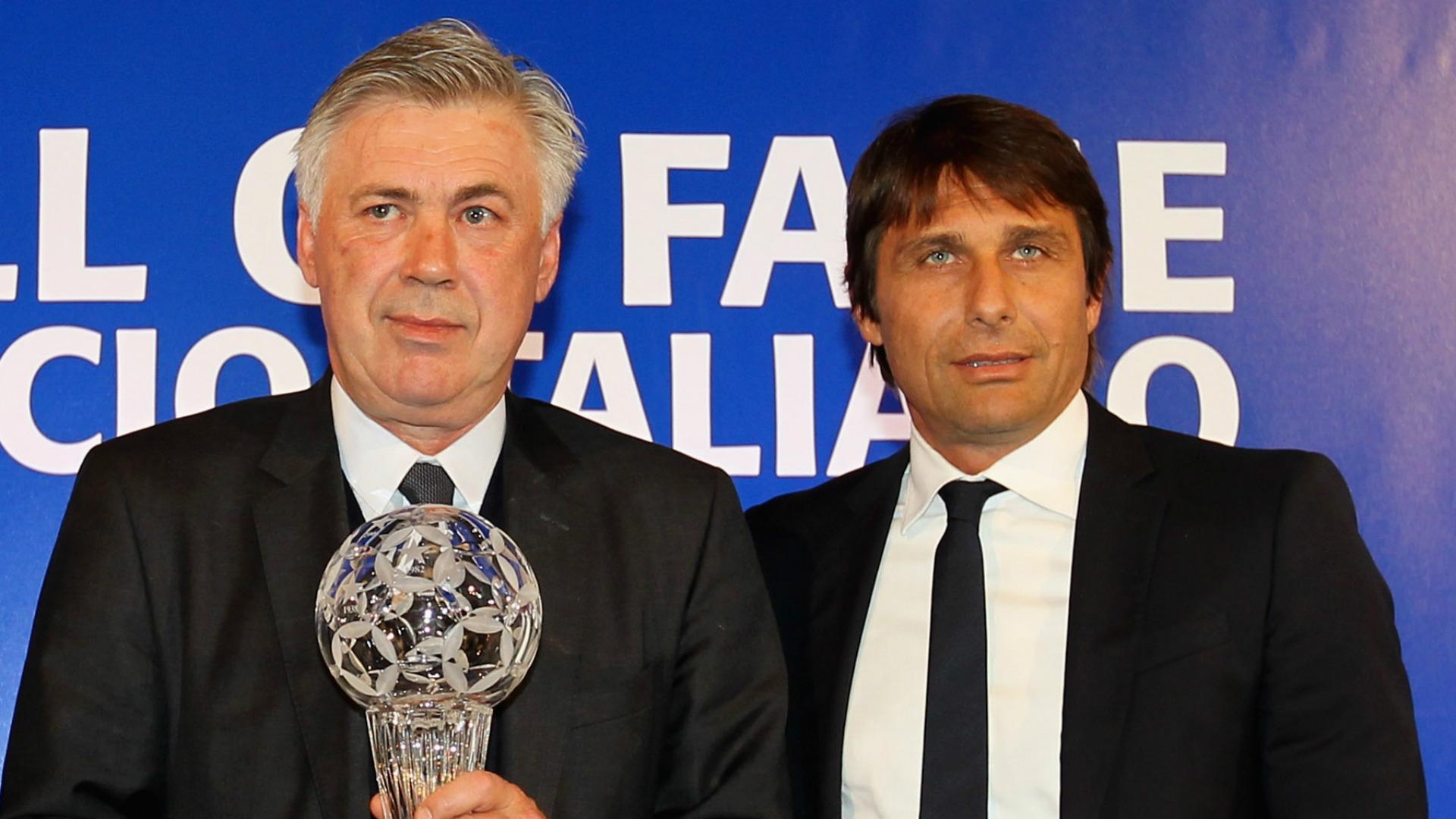 Carlo Ancelotti Antonio Conte