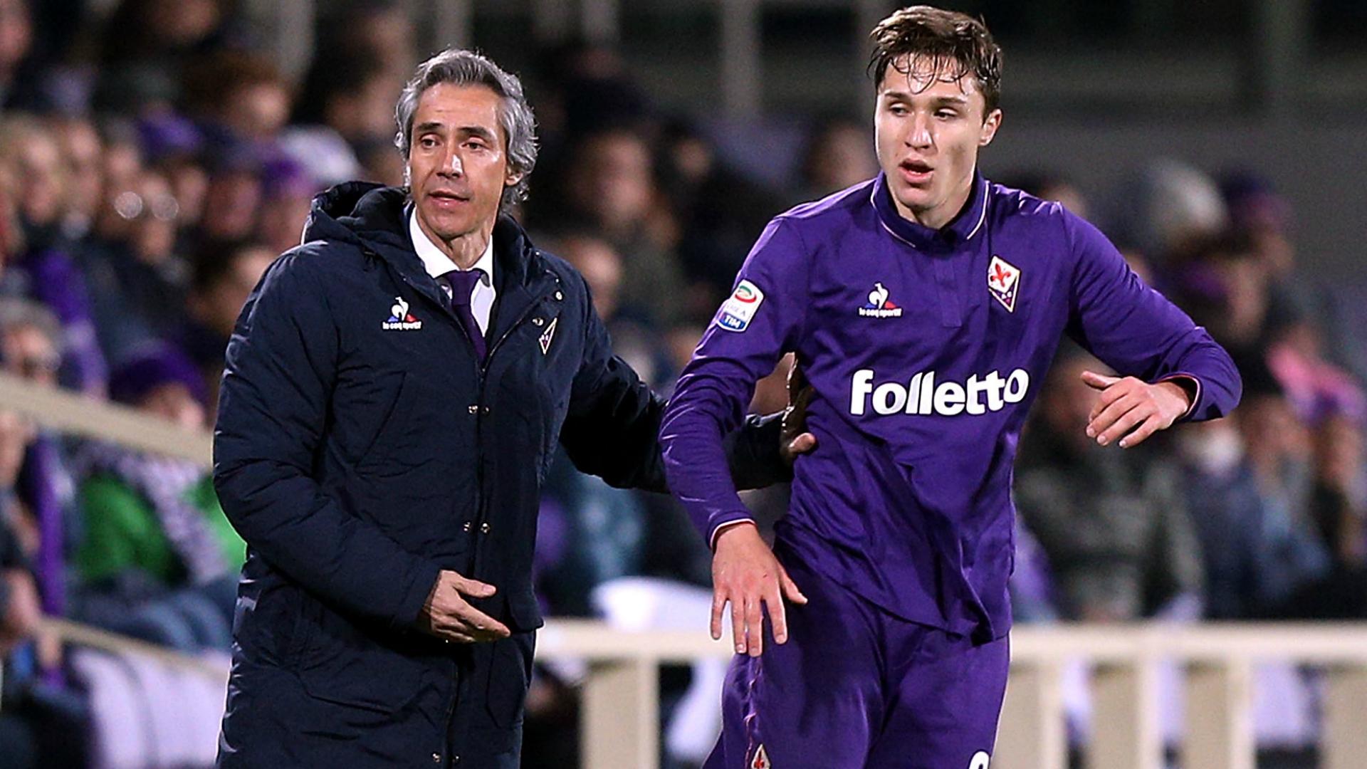 Paulo Sousa Federico Chiesa Fiorentina Torino Serie A 27022017