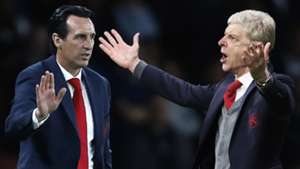 Unai Emery Arsene Wenger Arsenal